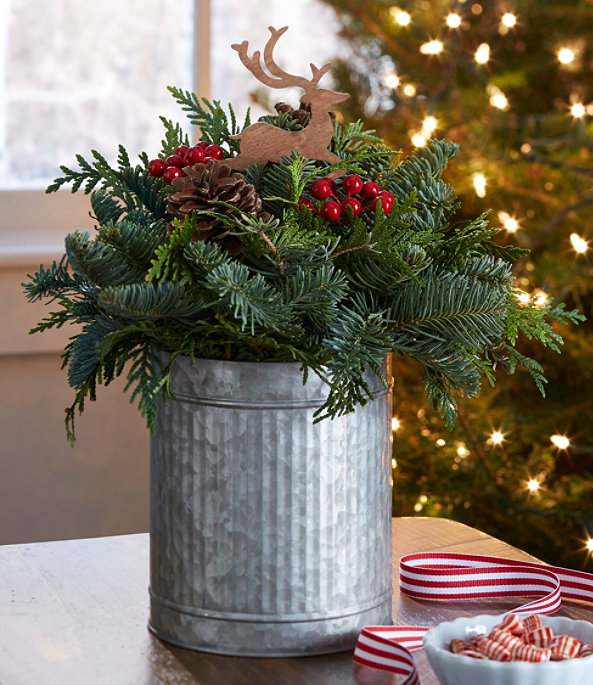 NEW Christmas Reindeer Centerpiece, One Color, large image number 0