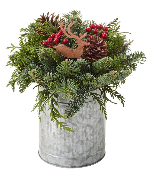 NEW Christmas Reindeer Centerpiece, One Color, large image number 1