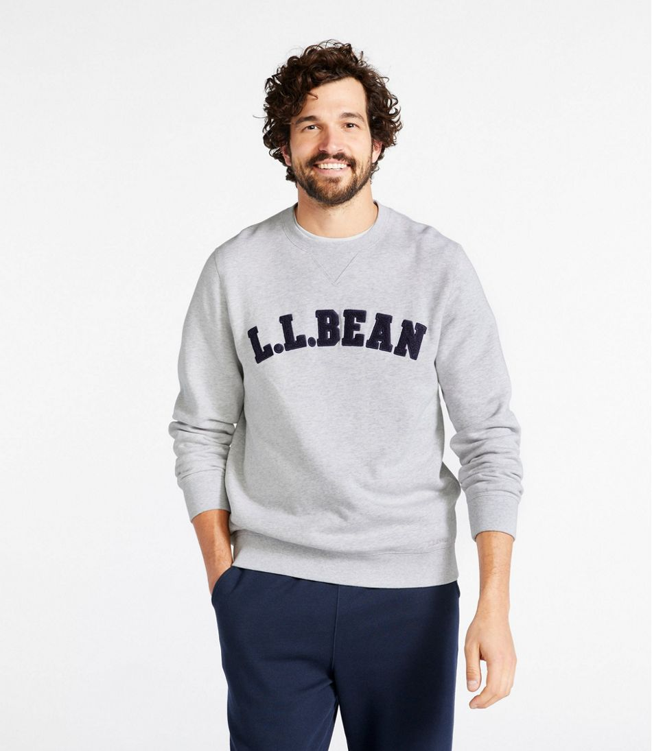 Athletic Sweats, Classic Crewneck Sweatshirt, L.L.Bean Logo
