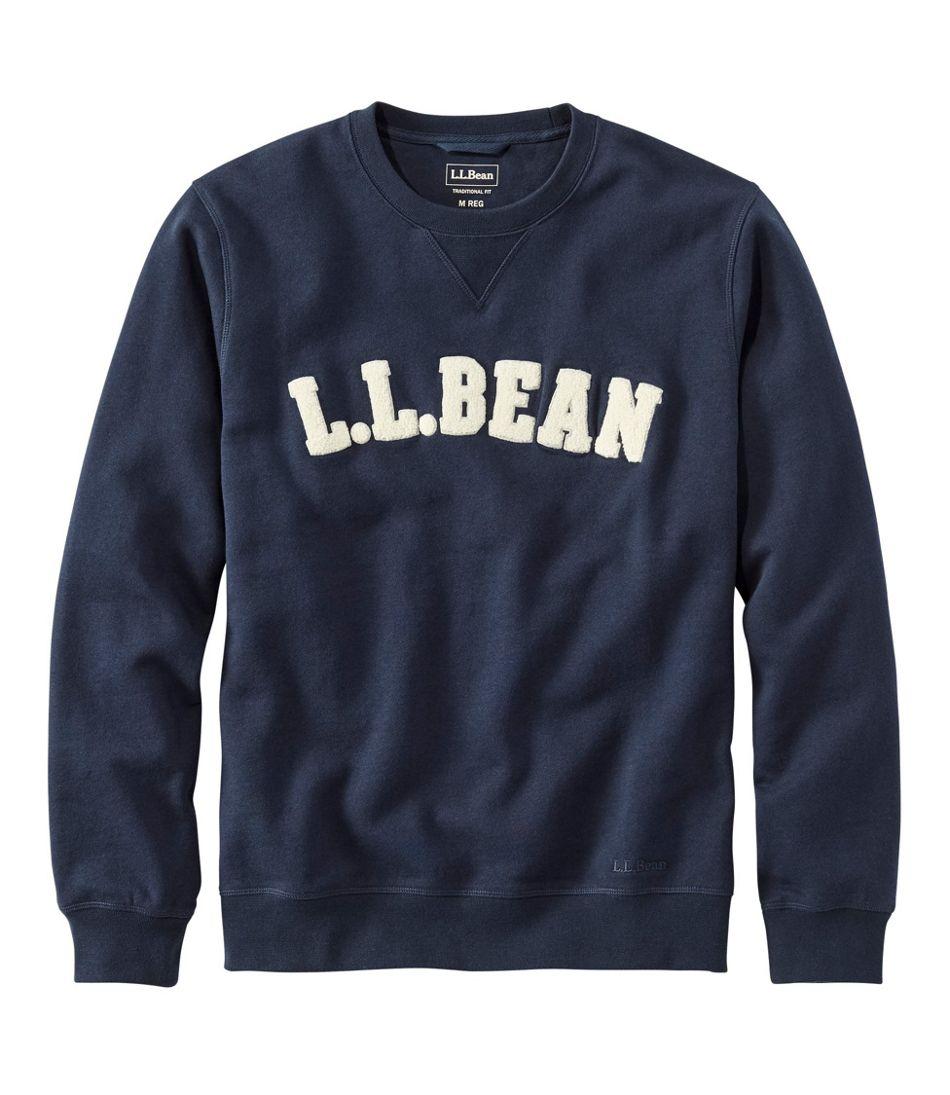 Men's Athletic Sweats, Classic Crewneck Sweatshirt, L.L.Bean Logo