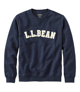 Men's Athletic Sweats, Classic Crewneck Sweatshirt, L.L.Bean Logo