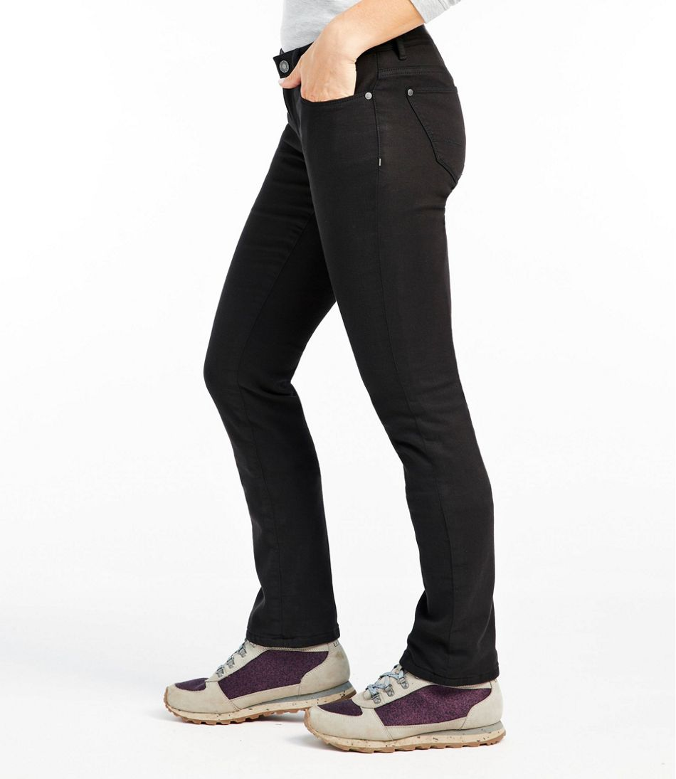 L.L.Bean Performance Stretch Jeans, Lined Colors