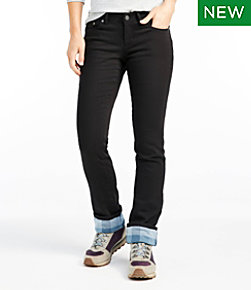 Women's L.L.Bean Performance Stretch Jeans, Lined Colors