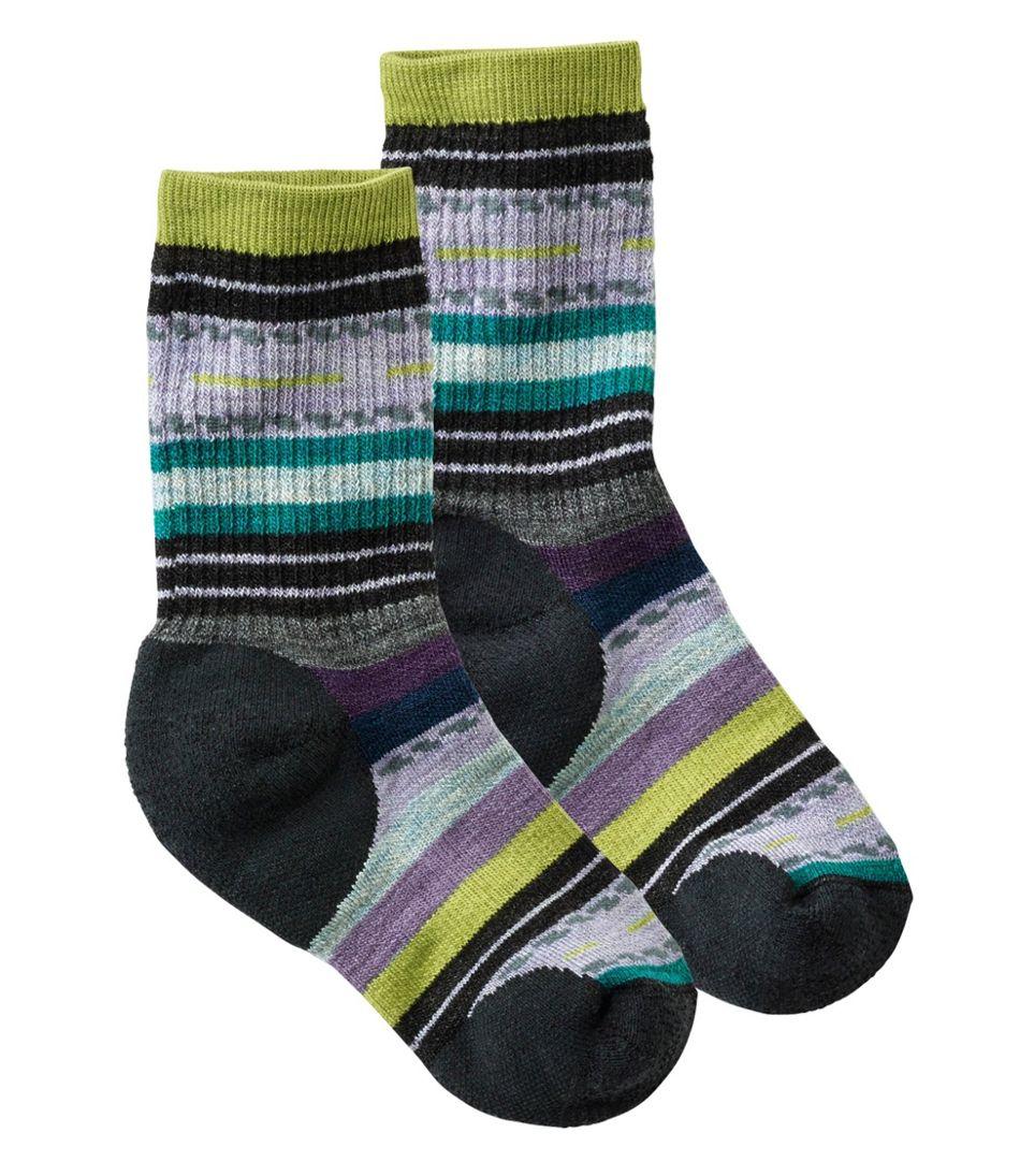 Kids' Smartwool Margarita Hike Medium Crew Socks