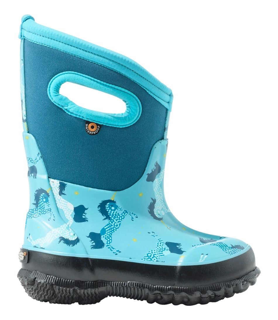 Toddlers' Bogs Classic Boots, Unicorn