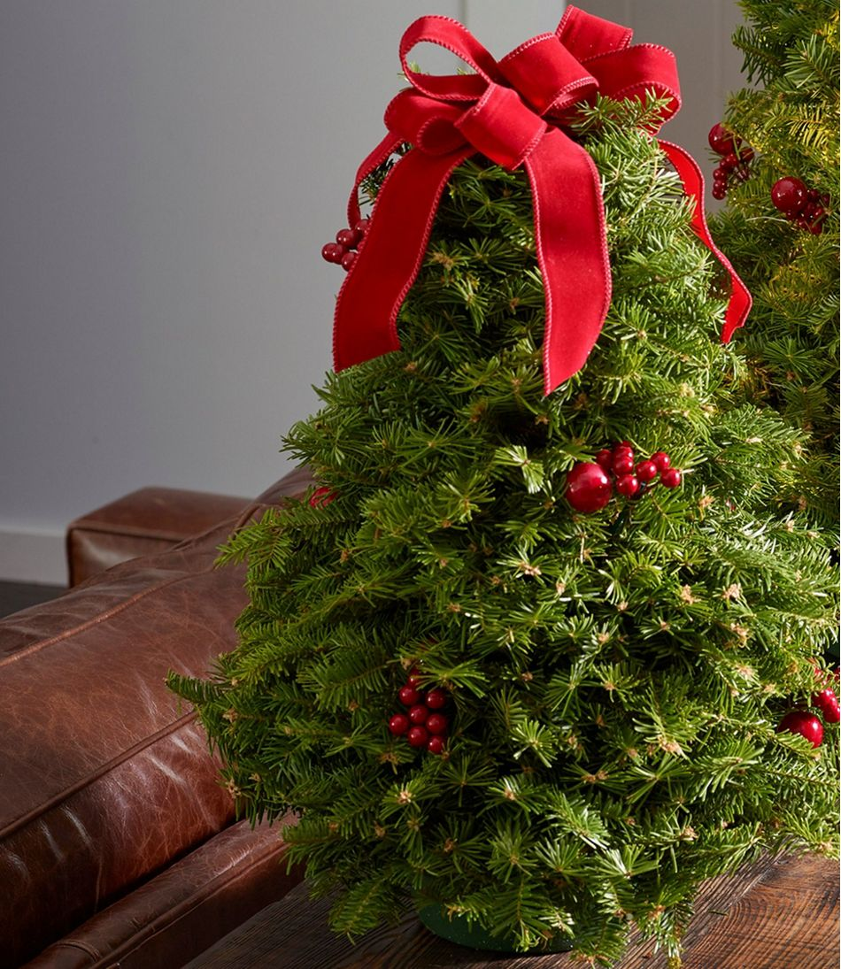 Traditional Christmas Balsam Tabletop Tree