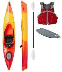 LLB Manatee 12' Deluxe Kayak Set