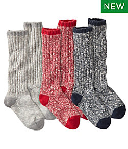 Women's Cotton Ragg Gift Set, 3-Pairs