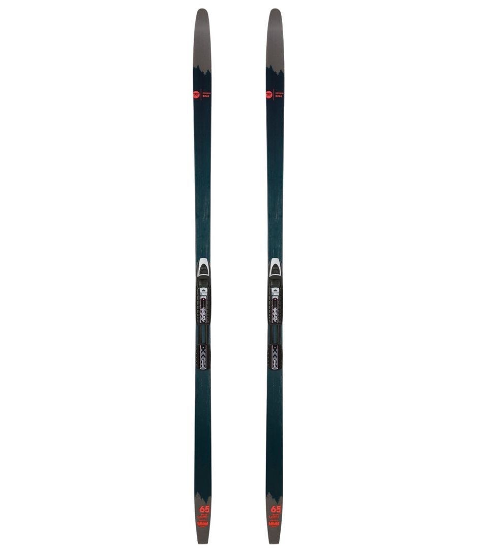 Adults' Rossignol BC 65 Backcountry Skis with NNN BC Auto Bindings