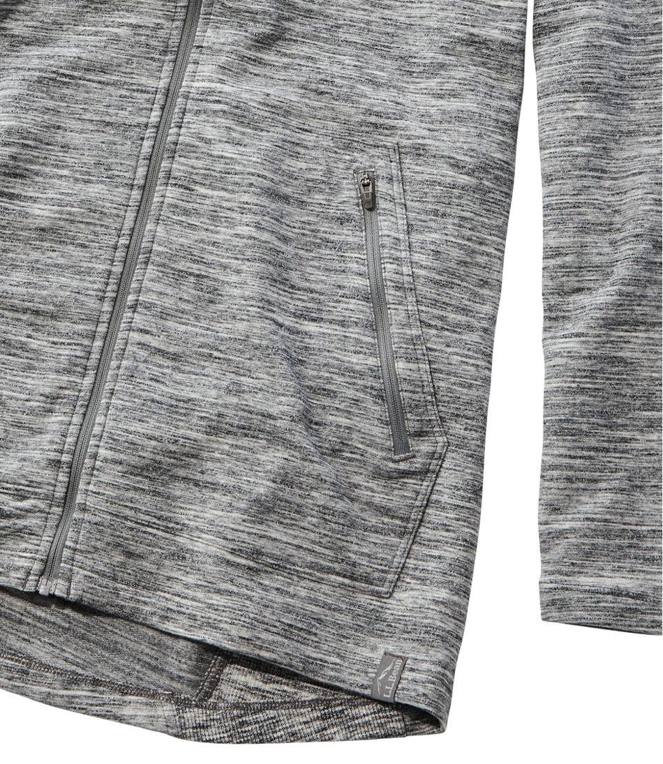 Women's Bean's Cozy Full-Zip Hooded Sweatshirt, Marled