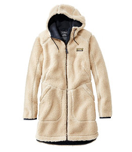 Women's Mountain Pile Fleece Coat