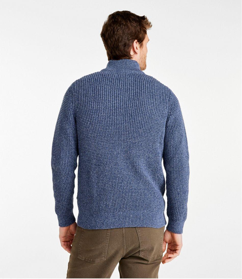 Organic Cotton Sweater, Full Zip