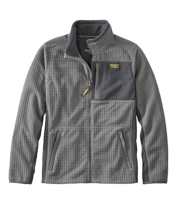 Mountain Classic Windproof Fleece Jacket, Graphite/Shale Gray, large image number 0