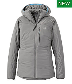 Women's Stretch Primaloft Packaway Hooded Jacket