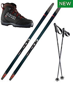 Rossignol BC 65 Mounted Ski Set with BC X2 Boots