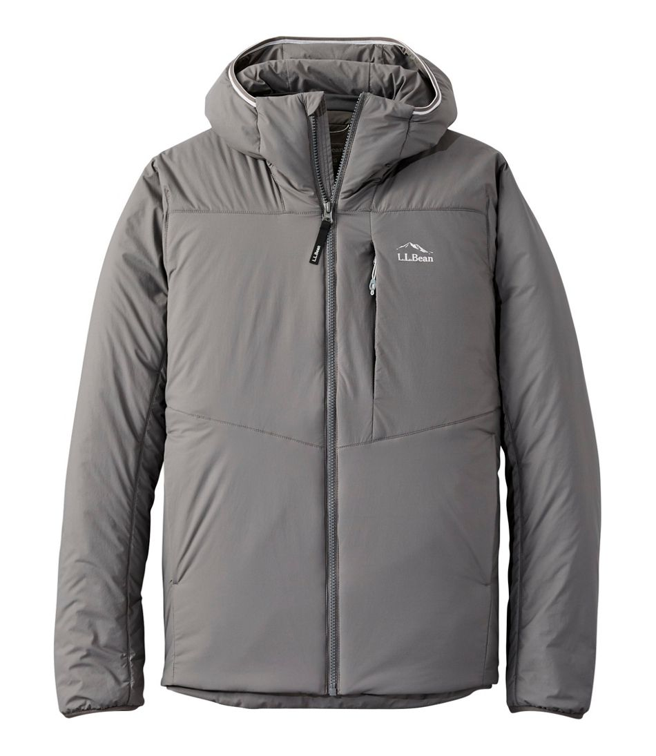 Men's Stretch Primaloft Packaway Hooded Jacket