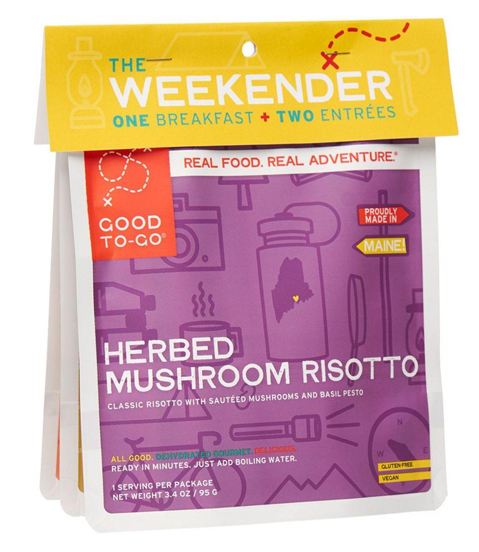 Good To-Go Foods Vegan Variety Weekender Pack