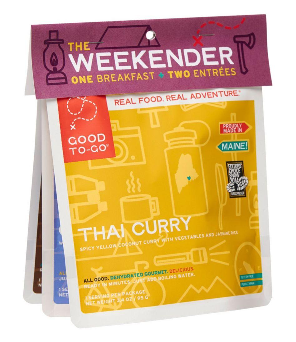 Good To-Go Foods Weekender Variety Pack #1