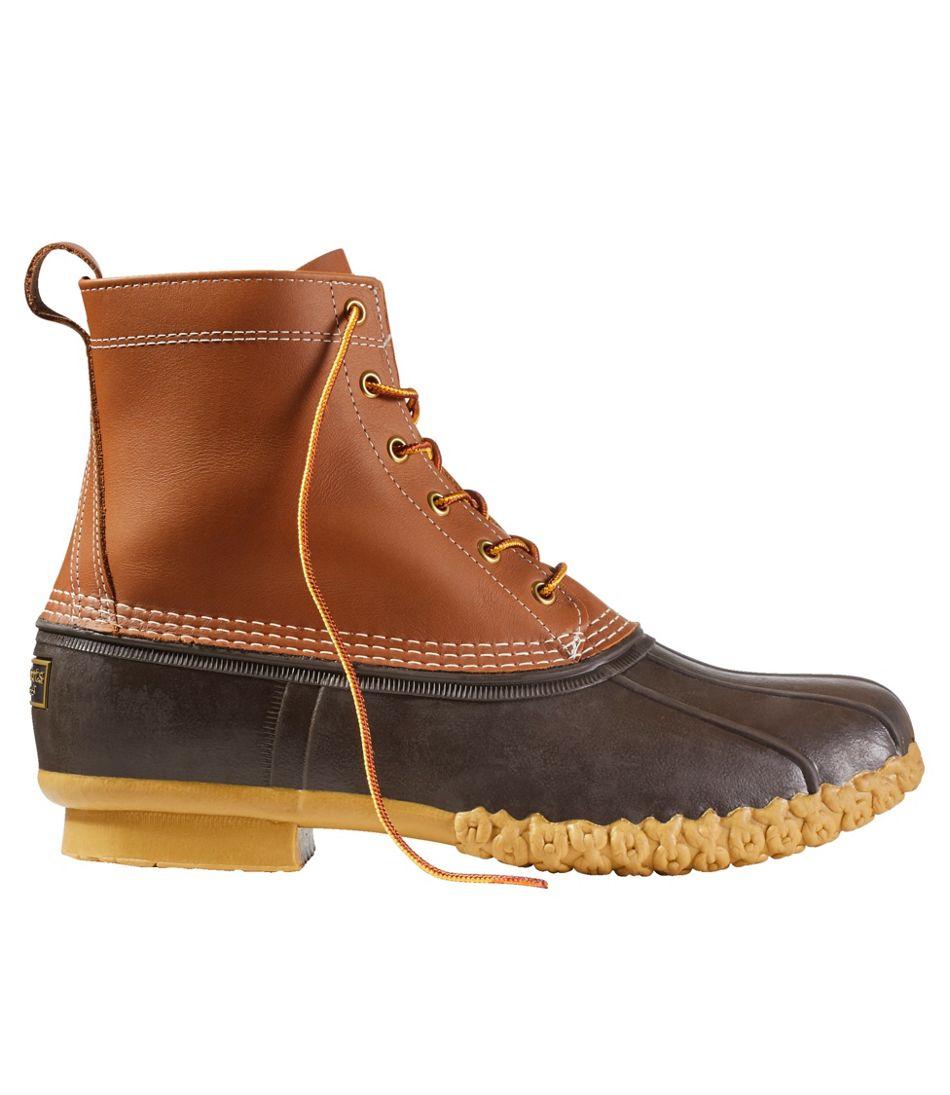 """Men's Bean Boots, 8"""" PrimaLoft"""