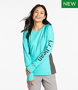 Women's Tropicwear Knit Crew Shirt, Long-Sleeve
