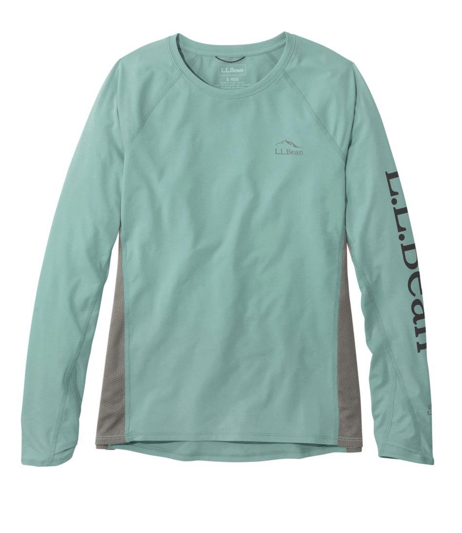 Women's Tropicwear Knit Crew Shirt, Long-Sleeve