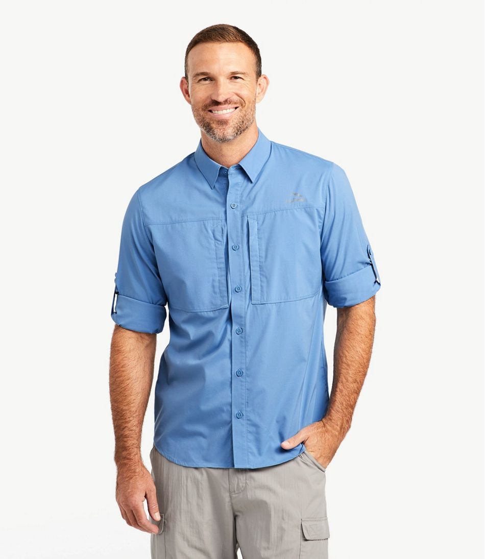 Men's Tropicwear Pro Stretch Shirt, Long-Sleeve