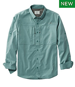 Men's Tropicwear Pro Stretch Shirt, Long-Sleeve Regular