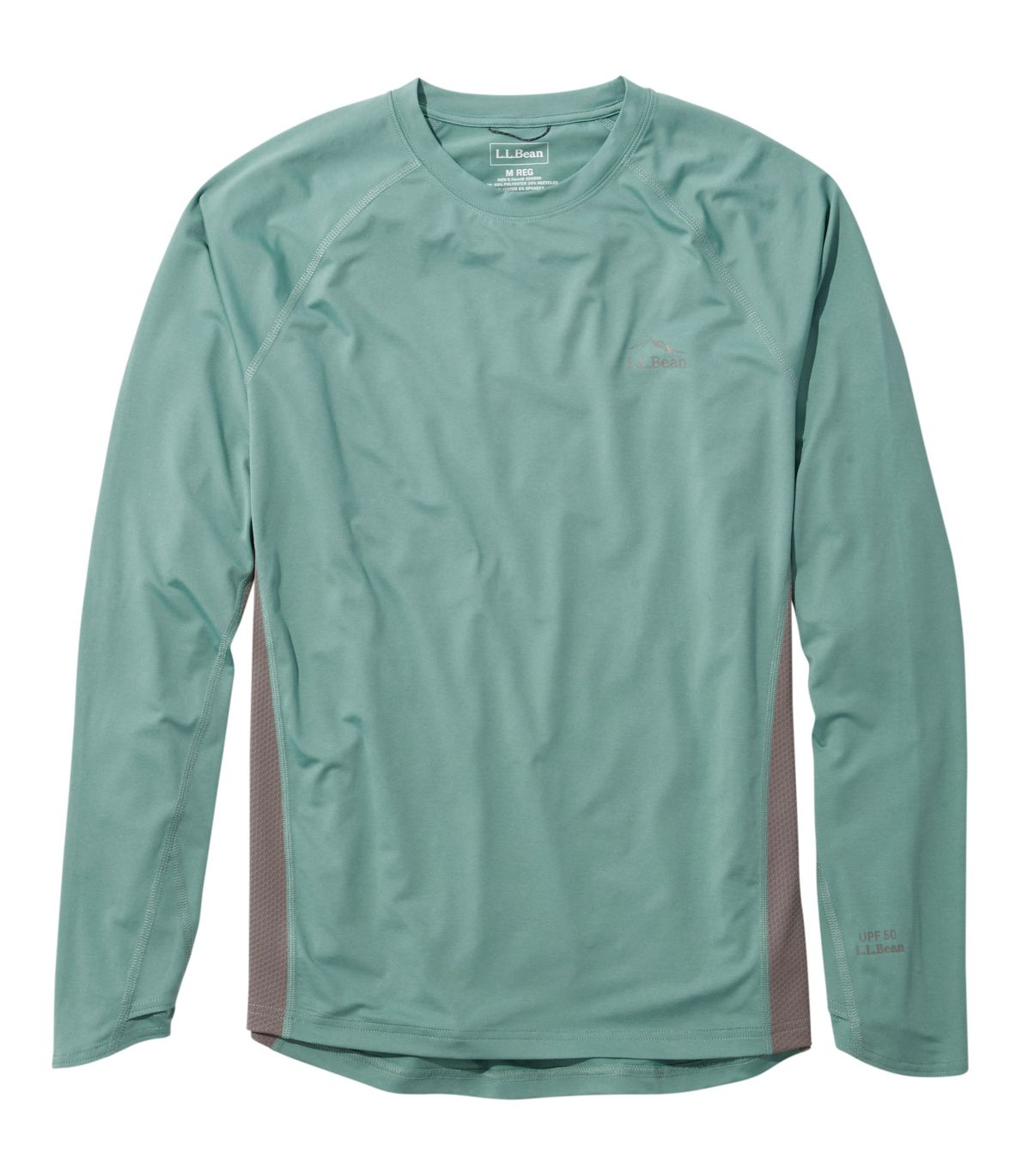 Men's Tropicwear Knit Crew Shirt, Long-Sleeve