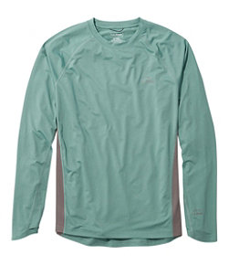 Men's Tropicwear Knit Crew Shirt, Long-Sleeve Regular
