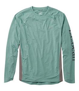 Men's Tropicwear Knit Crew Shirt, Long-Sleeve Regular