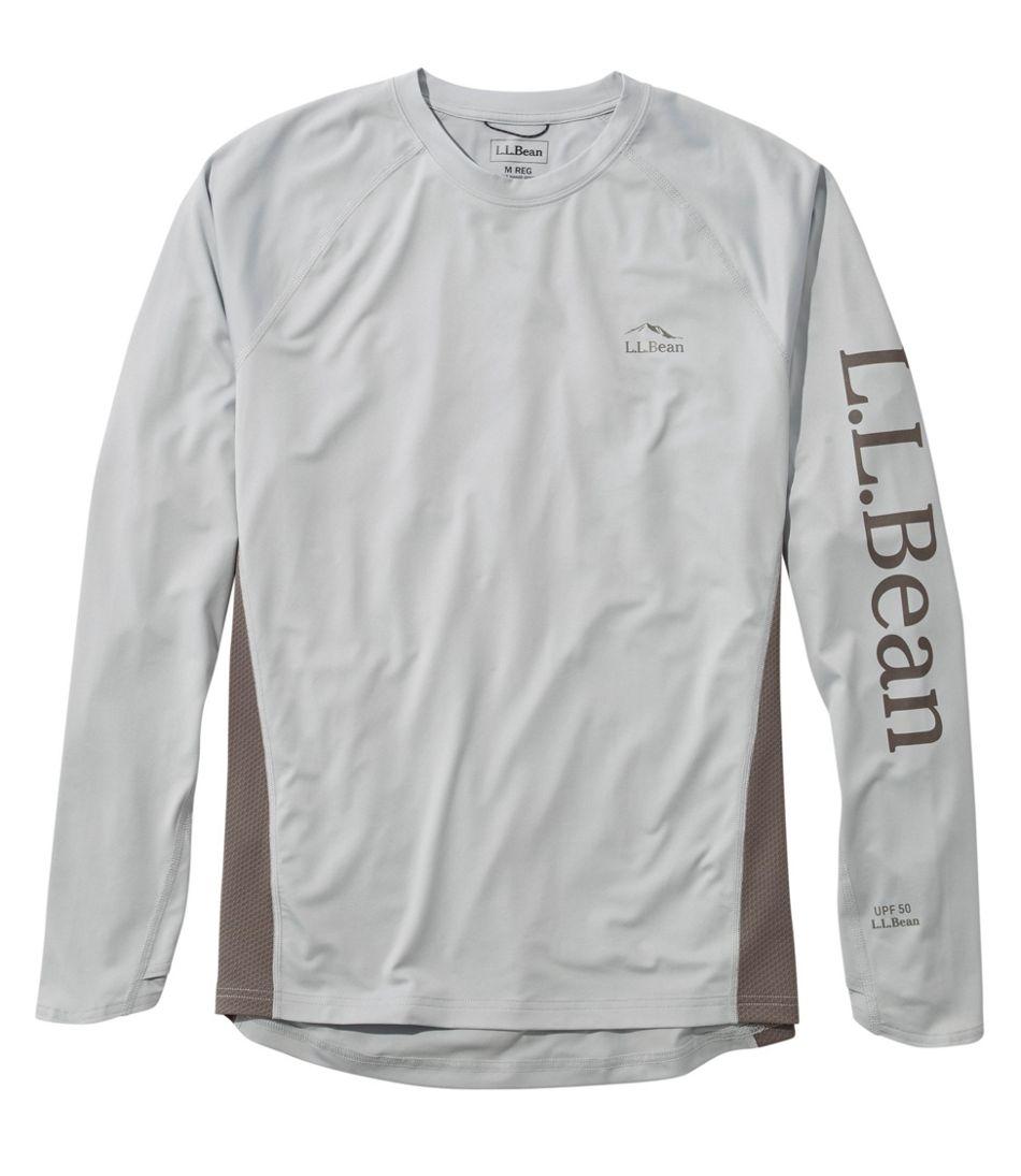 Men's Tropicwear Knit Crew Shirt, Long-Sleeve