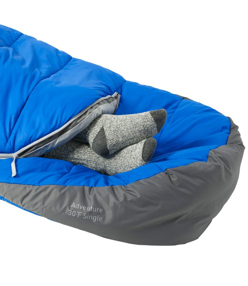 Adults' L.L.Bean Adventure Sleeping Bag, 30° Single