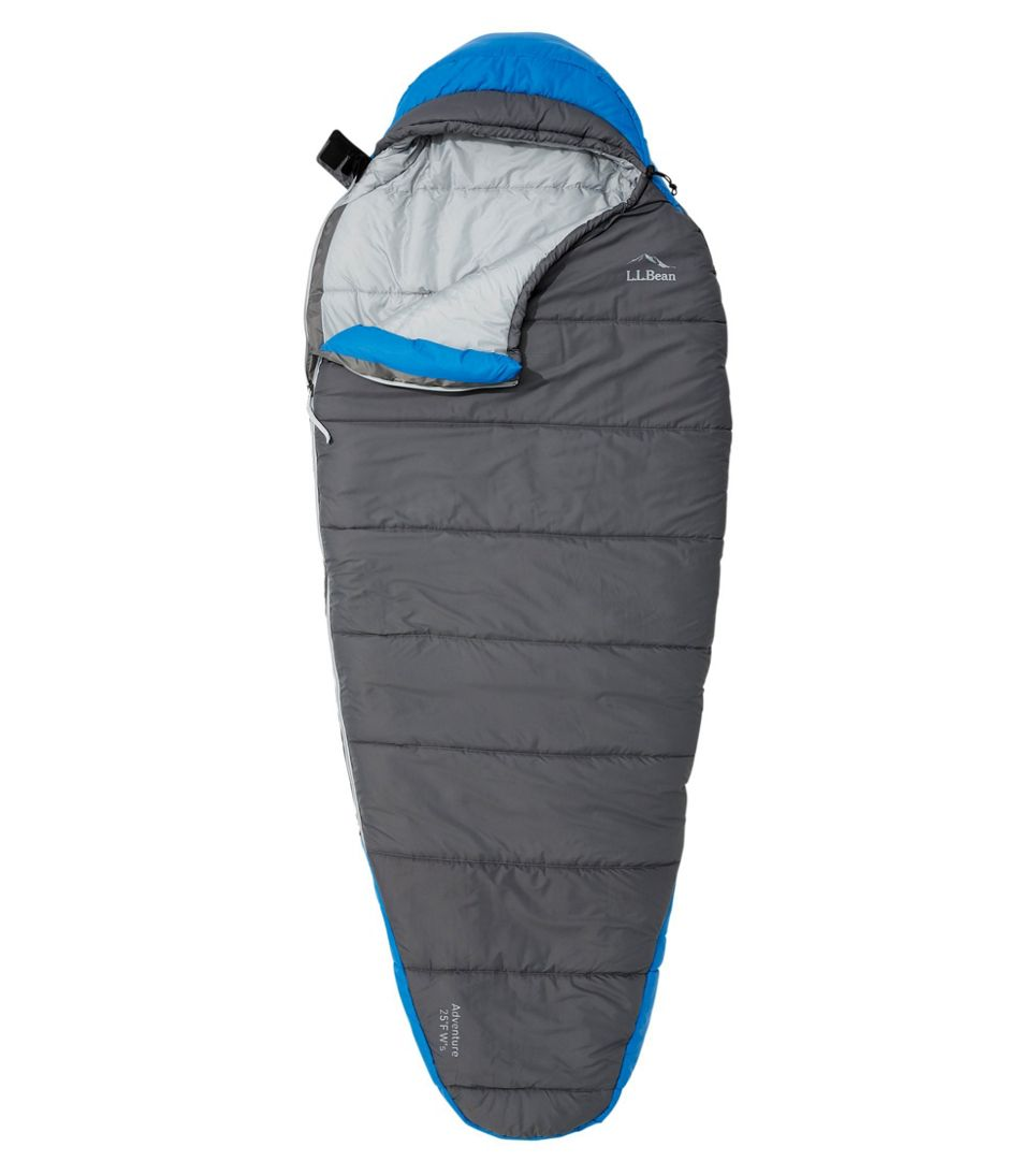 Women's L.L.Bean Adventure Sleeping Bag, 25° Mummy