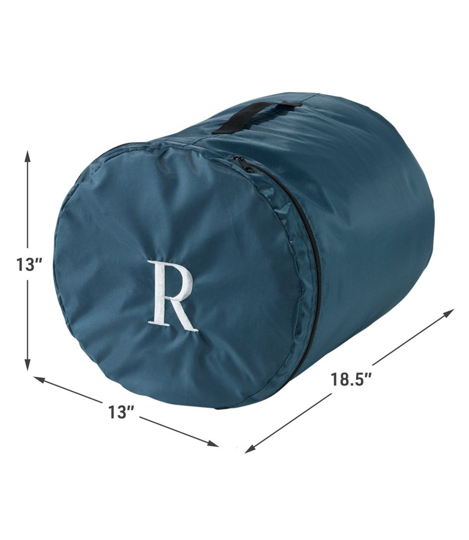 L.L.Bean Flannel Lined Camp Sleeping Bag, 40°
