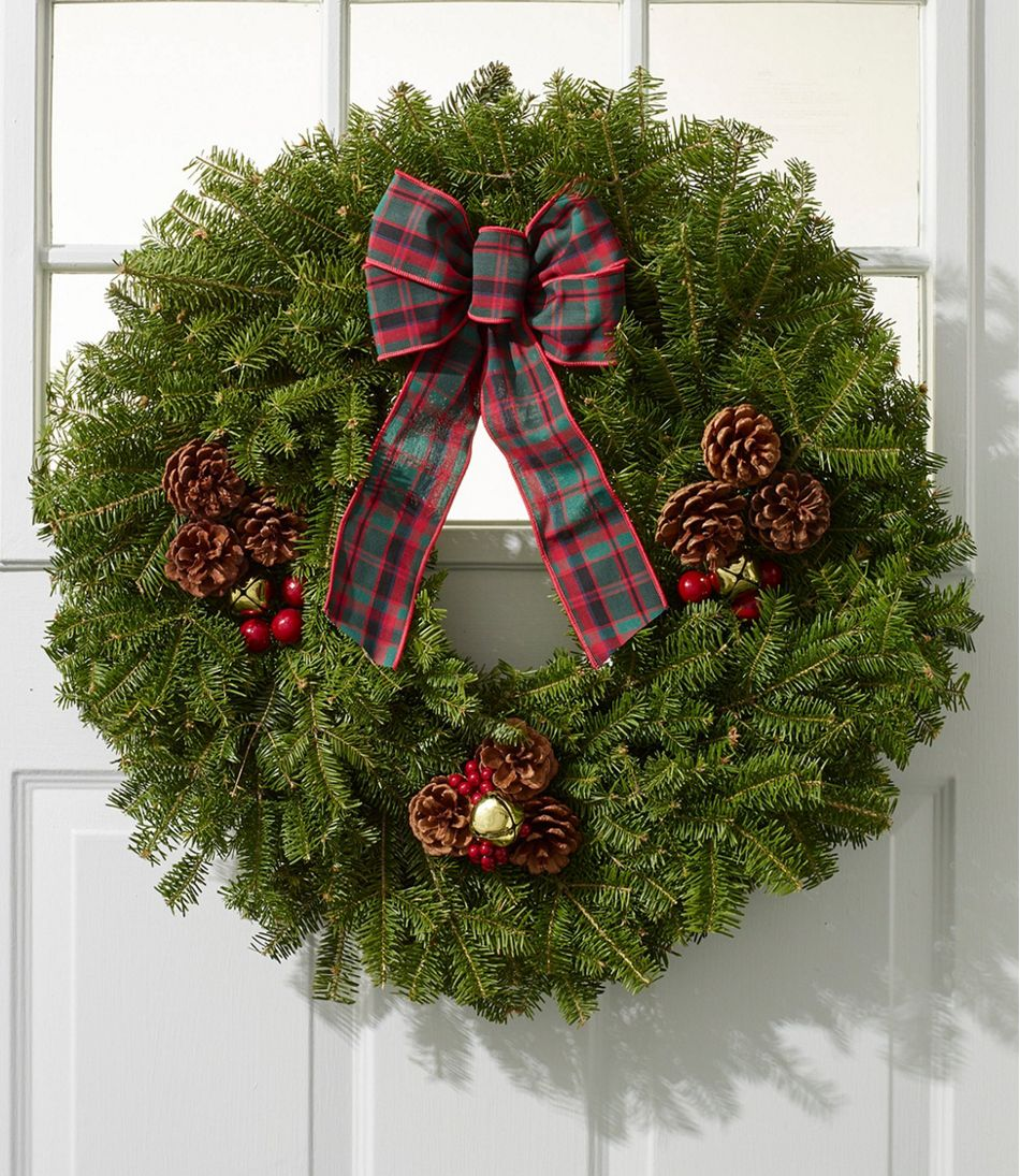Christmas Golden Bells Wreath