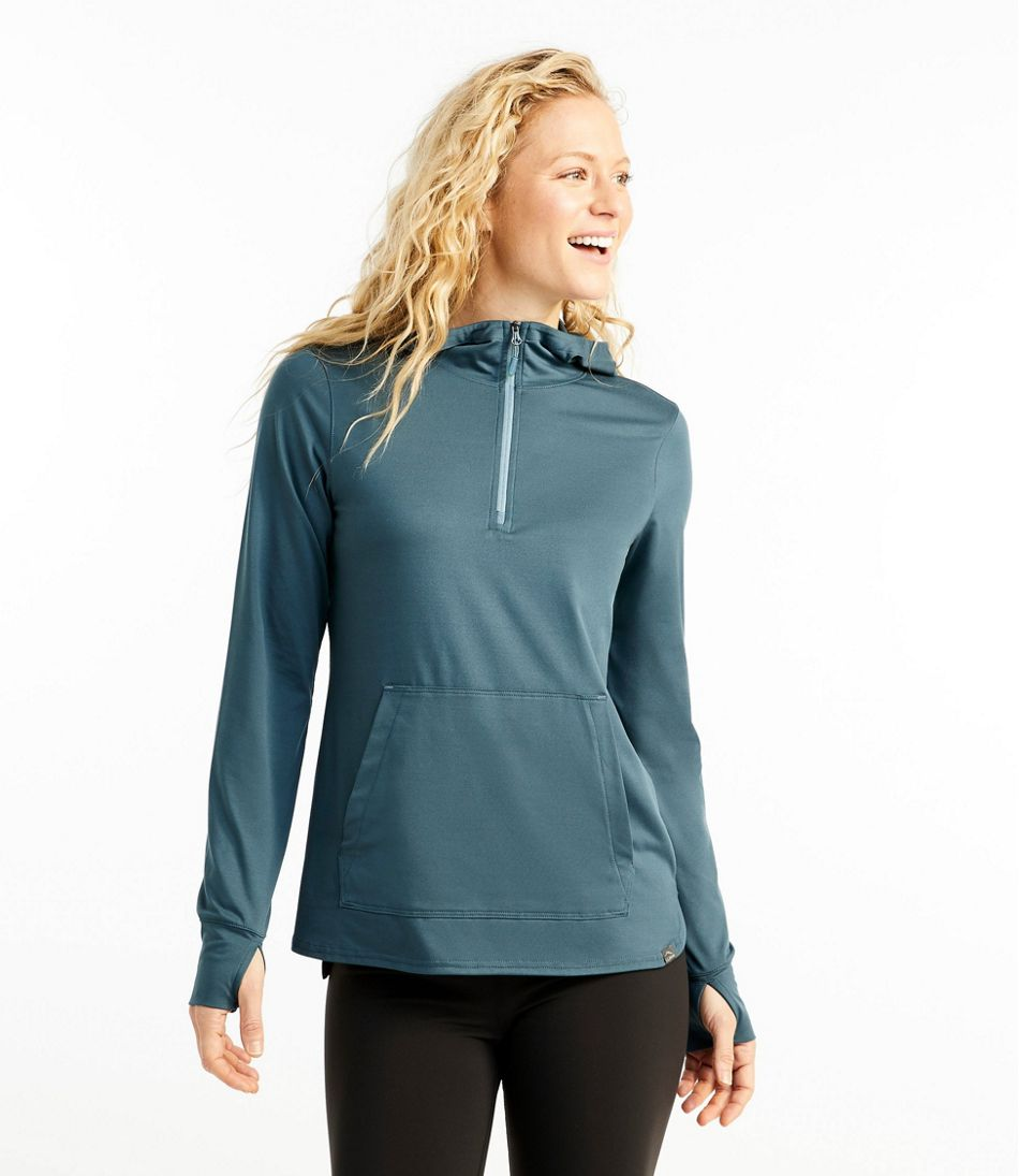 Women's All-Day Active UPF Quarter-Zip Hoodie