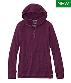 All-Day Active UPF Quarter-Zip Hoodie