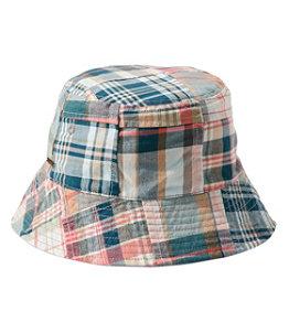 Women's Packable Cotton Bucket Hat
