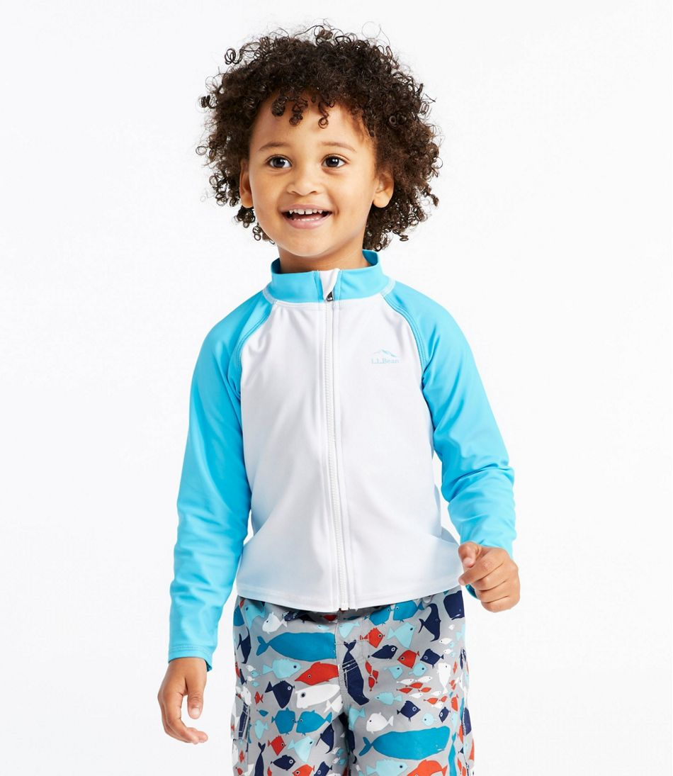 Toddlers' Sun-and-Surf Shirt, Full-Zip