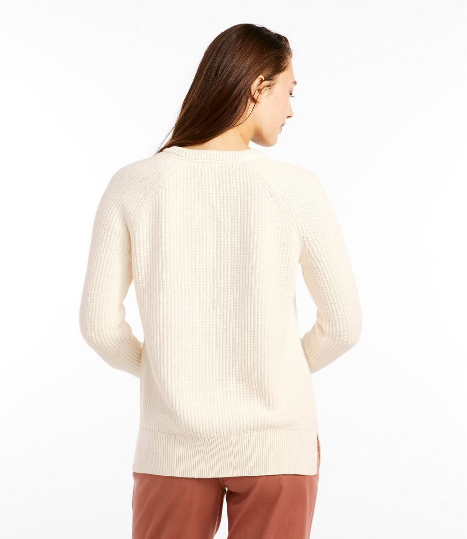 Coastal Cotton Sweater, Pullover