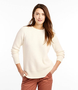 Women's Coastal Cotton Sweater, Pullover