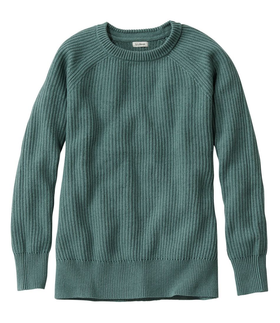 Coastal Cotton Sweater, Pullover