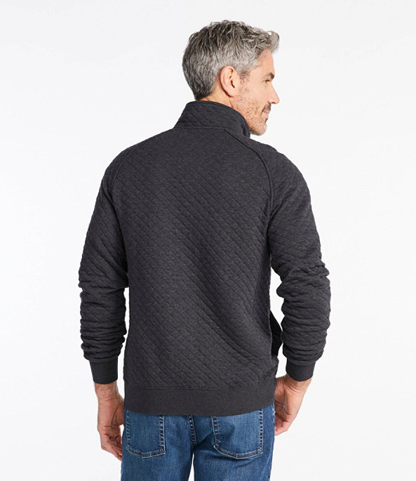 Men's Quilted Sweatshirt, Pullover, , large image number 2
