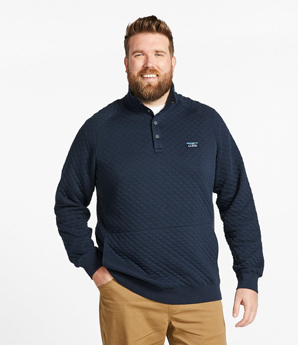 Men's Quilted Sweatshirt, Pullover, , large image number 3
