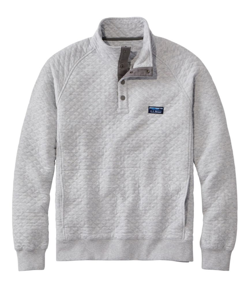 Men's Quilted Sweatshirt, Pullover