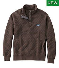 Men's Bean's Quilted Sweatshirt Regular