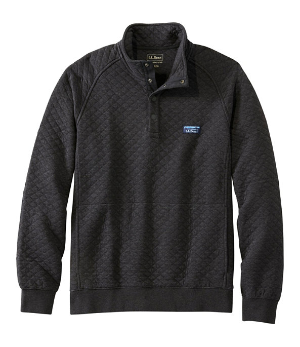 Men's Quilted Sweatshirt, Pullover, , large image number 0