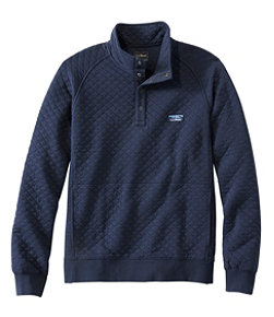 Men's L.L.Bean Quilted Sweatshirt