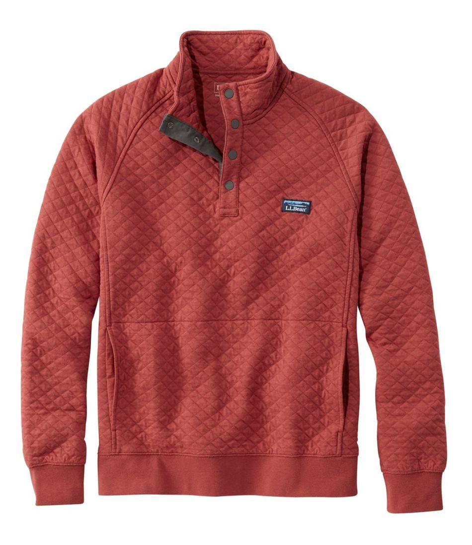 L.L.Bean Quilted Sweatshirt