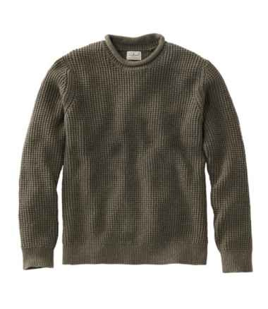 Organic Cotton Sweater, Rollneck Crew